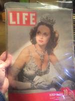 "LIFE March 25,1946 Lucille Bremer / Bikini Atoll / ""Ziegfeld Follies"" / Modeling"