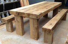 """Big Sleeper table for garden or House , 10ft X  3ft, 4"""" thick 12 Seater"""