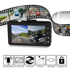 "3.0"" Motorcycle Video Camera Car Driving Recorder DVR Sport G-Sensor Dash Cam"