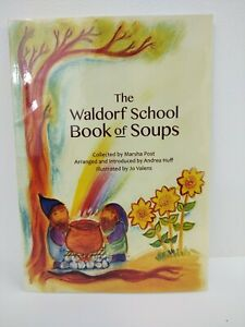 New The Waldorf School Of Soups Paperback Book Marsha Post