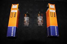 Siemens E81CC 12AT7WA NOS NIB Superstrong Matched Balanced pair ECC801S ECC81