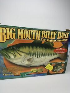 Big Mouth Billy Bass 445076 and Box