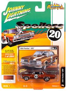 2020 Johnny Lightning *STREET FREAKS 1B* Bronze 1964 Pontiac GTO SPOILERS NIP!