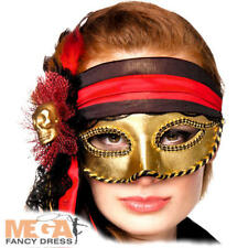 Venetian Eye Mask Fancy Dress Halloween MasqueradePirate Adult Costume Accessory