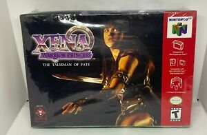 Xena: Warrior Princess - The Talisman of Fate Nintendo 64 N64 SEALED NEW