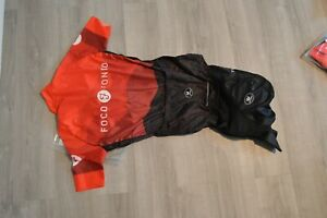 Vermarc cycling kit bib shorts and jersey, Womens size L, new with tags in bag.