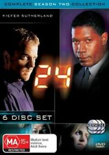 24 : Season 2 Part 1 (DVD, 2004, 7-Disc Set) Genuine & unSealed (D115)