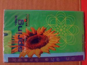 BMG Spring 1996 Promo Sampler Cassette NEW Expose DEBORAH COX Scarlet P.R.E.Y.