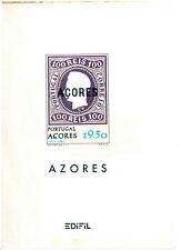Azores Hojas EDIFIL año 1980-90 (BF-745)