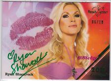 2011 BENCHWARMER LIMITED KISS AUTO: RYAN SHAMROCK #6/10 AUTOGRAPH WWF WRESTLING