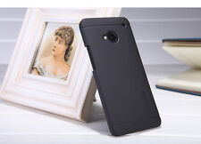 Black Nillkin Matte Back Hard Cover Case +LCD Guard For HTC One M7 LTE 64GB 32GB