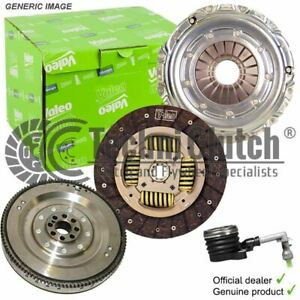 VALEO DUAL MASS FLYWHEEL AND CLUTCH FOR AUDI TT COUPE 1968CCM 170HP 125KW