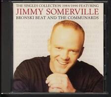 JIMMY SOMERVILLE BRONSKI BEAT & THE COMMUNARDS Singles Collection CD FREEPOSTAGE