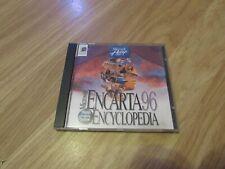 VINTAGE MICROSOFT ENCARTA ENCYCLOPEDIA 96 SOFTWARE WORLD ENGLISH EDITION
