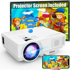 [Wifi Projector] Jinhoo 4500 Lumen Video Projector 1080P Full HD Supported [With