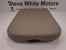02-05 Dodge Ram 1500 2500 New Console Armrest Bin Lid Taupe Mopar Factory Oem