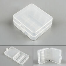4Pcs Battery Storage Case Box Holder For 2 Cell 26650 Battery Protection Usa