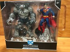 McFarlane Superman vs Devastator Doomsday Dark Nights Metal DC Multiverse 2 Pack