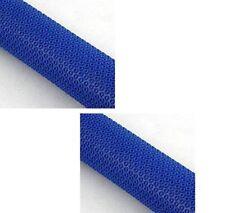 2X Cricket Bat Batting Grips / Bat Grips Assorted Non Slip Blue Clr