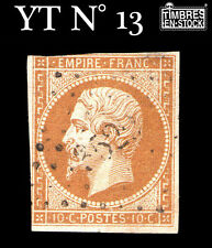 YT N° 13 NAPOLÉON 10 CENTIME BISTRE !!!