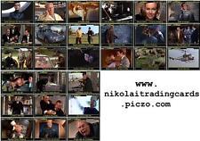 Goldfinger - James Bond movie storyboard Trading cards 007