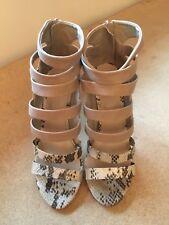 New Tan high heel dress sandals size 8