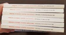 ANNALES (Economies Sociétés Civilisations): Lot de 6 numéros différents. 1991/92