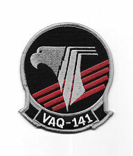 """US NAVY """"Shadowhawks"""" VAQ-141  Embroidered  Patch"""