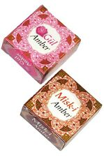 20 pcs Amber Musk jamid Perfume solid alcohol free  Halal