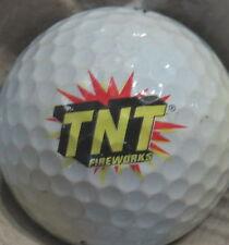 (1) TNT FIREWORKS LOGO GOLF BALL