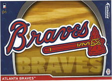 ATLANTA BRAVES LOGO FATHEAD TRADEABLES 2009 REMOVABLE STICKER GLAVINE MADDUX L2