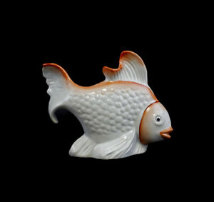 9986004 Linder Figur Fisch Porzellan Spardose 19x3,5x14cm