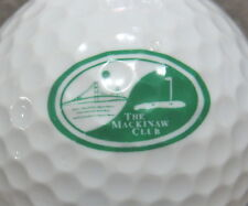 (1) THE MACKINAW CLUB GOLF COURSE LOGO GOLF BALL