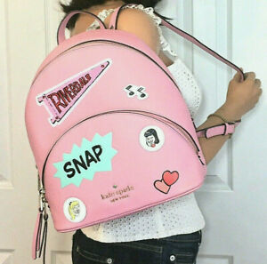 Kate Spade Archie Comics Backpack Betty & Veronica Pink Bag Motif NWT $389