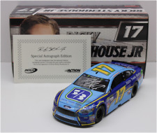 SIGNED 2017 RICKY STENHOUSE #17 FIFTH THIRD BANK AUTOGRAPHED 1/24 CAR