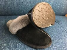 UGG Scuffette ll in Black and Grey Women's 11