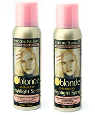 Jerome Russell B blonde Temporay Highlight Spray STRAWBERRY BLONDE *TWO PACK*
