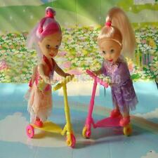 2pcs Puppenhaus Scooter Trikke Möbel-Set für Barbie/4 Zoll Puppen