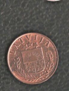 LATVIA 1 SENTIM 1939