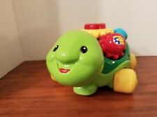 Vtech ROLL & LEARN TURTLE Electronic Interactive PULL TOY W/ GEARS Music Lights