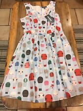 Modcloth Air Of Adorable Pinup Dress Hot Air Balloon Print Size Medium NWT