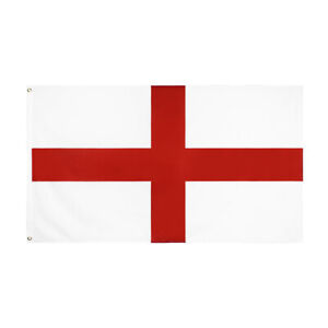 Giant England Flag Euro 2020 5ft x 3ft UK  Red cross Speedy Delivery
