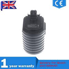 1.3Ah 24V Ni-CD Battery For Bosch GBH 24VRE BAT019 BAT020 BAT021 2 607 335 082