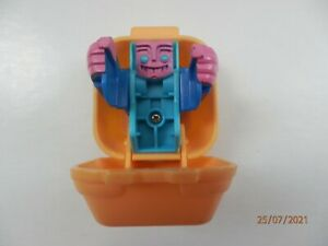 1988 McDonalds Happy Meal Toy Transformer in a Quarter Pounder Burger box