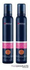 Indola Color Mousse 200ml - Blonde foncée x2