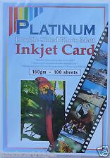 100 feuilles Platinum A4 160GSM A4 double face photo mat / MAT CARTE