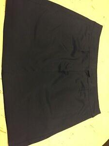 Puma Golf Skirt Navy Blue Size 8 Excellent