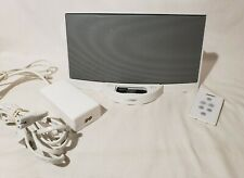 Bose SoundDock Digital Music System Series 1 for iPod White w/Remote Cables Work