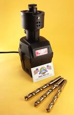 "Electric Drill Bit Sharpener Semi-Automatic 9/64"" - 5/8"" Drill Hog USA  Warranty"