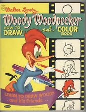 Woody Woodpecker Coloring Book #1416 VG+ 1957